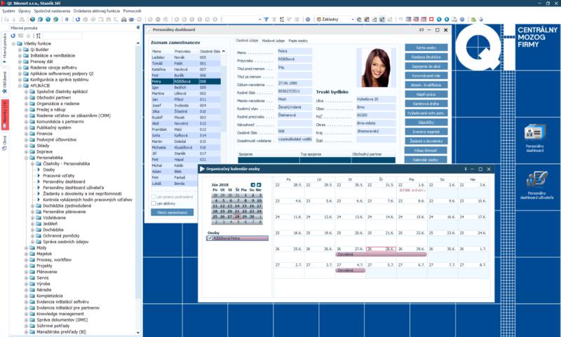 Personální dashboard