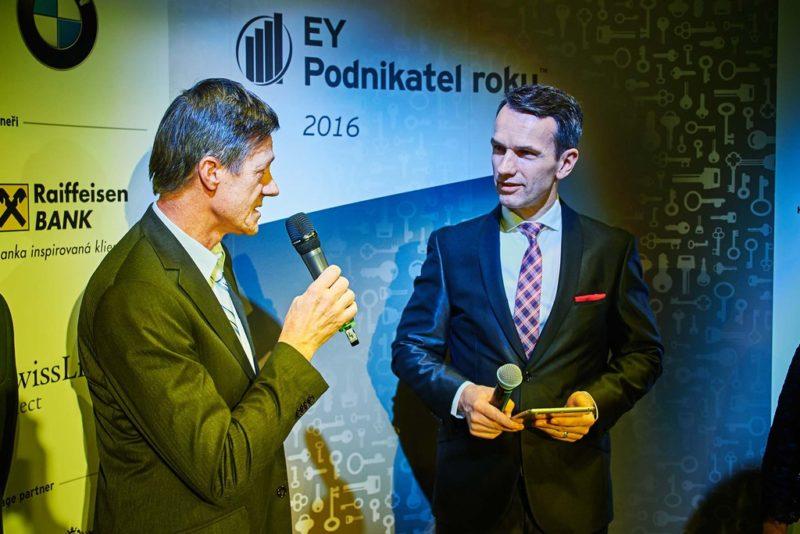 Finále súťaže Podnikateľ roka Olomouckého kraja