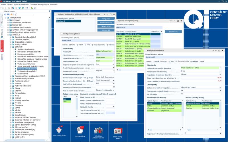 Pripravte si údaje pre e-shop v informačnom systéme QI